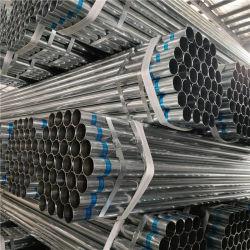 المستطيل المربع المستطيل المربع المستدير من مخلفات الحرب الخفيفة من الدرجة المتوسطة GB/BS/ASTM مجلفًا مسبقًا/ساخنًا أنبوب الصلب المغلفن مع أغطية بلاستيكية ذات مقابس مسننة لمدة إطار السقالات