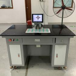 El registro visual de la CCD perforante del agujero de la película de la máquina de perforación