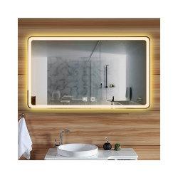 Personalizza il mobile da bagno con lavandino e touch screen Fitness Smart di qualsiasi dimensione Bagno Android specchio LED Smart