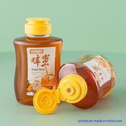 440 غ شراب العسل البلاستيك شراب صلصة الدجاج صناعة زجاجة