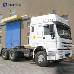 新型 Sinotruck HOWO 6 輪トラクタトラックトレーラーヘッド 6x4 371HP 420HP トラクター・トウ・トレーラー・カーゴ・プライム・ムーバ・トラックを使用 販売のため