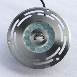 샘을%s 이음쇠가 고품질 스테인리스에 의하여 12W 18W DC24V 수중 LED 점화한다
