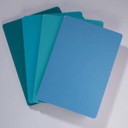 Heißer Blatt AußenWal Panel-Fluorkohlenstoff-zusammengesetztes Aluminiumpanel der Verkaufs-4mm