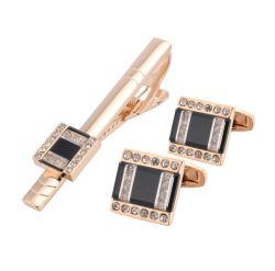 Bouton Mode Metal Crafts Gemelos Silver Gold chemise en acier inoxydable en laiton émail Cufflink pour accessoires du vêtement mode Bijoux