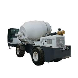 Carga automática Diesel mezcladora de cemento de Hormigón Móviles de la máquina de la carretilla con 4m3 Lote