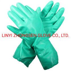Нитриловые бутадиена резиновые перчатки, Acidproof, щёлочь, маслостойкий, водонепроницаемый и химическая устойчивость
