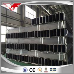 炭素鋼の管建築材料のための冷たい形作られたASTM A500の等級a/B/Cの黒または電流を通された長方形の管正方形の管または長方形の管または正方形の管