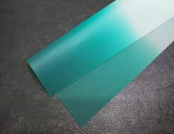 Verde na faixa verde de butiral de vidro automóvel intercalar 0,76 mm