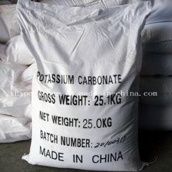 99 %/de qualité alimentaire de qualité industrielle de carbonate de potassium pour réactif chimique