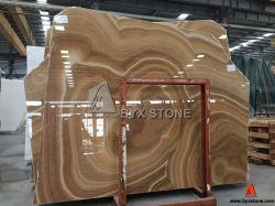 Lastra del Onyx del miele per la decorazione della parete, materiale da costruzione