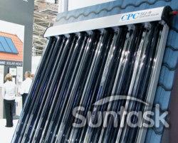 U-tuyau collecteur solaire thermique avec réflecteur