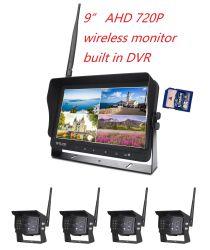 9-inch HD 720p 2,4G draadloze Quad LCD-monitor voor in de auto DVR
