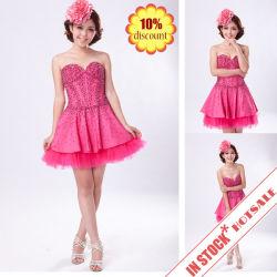 Короткие вечерние платья/из тафты валика клея-платье&prom платье&мини платье (4875 драйвер)