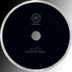 het 110mm Gesinterde Ononderbroken blad-Diamant Blad van de Zaag voor Scherp Marmer/Graniet/Ceramiektegel