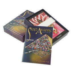 Kundenspezifisches Guidebook Printing Service mit Box und Cards