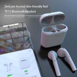 Nouveau Style I 12 Macaron casque Bluetooth pour Xiaomi 5.0 I12 Tws écouteurs sans fil pour les accessoires pour téléphones mobiles