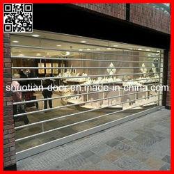 Loja de Guangzhou cortina amovível transparente de plástico (ST-004)