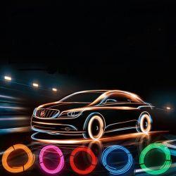 Striscia luminosa interna per auto a LED con decorazione interna striscia di luce fredda Luce per auto