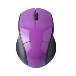 선물을%s 자주색 빛 색깔 3D 무선 컴퓨터 마우스