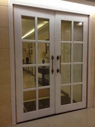 تصميم بسيطة خشبيّة زجاجيّة ملحقة غرفة باب تصميم بسيطة