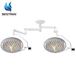 Ajustar el tamaño de foco LED eléctrico Hospital Medical luz quirúrgica Lámparas de funcionamiento