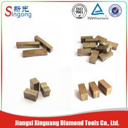 Segmento de várias camadas de diamante e o segmento de sanduíche de granito de Corte