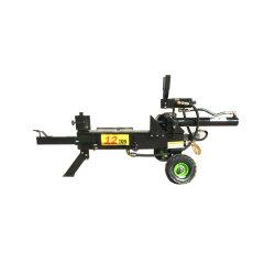 Divisor de registro de gas de 12 toneladas con B&S / hidráulica motor Loncin divisor de madera