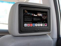 """9"""" Tablet PC el reproductor de Ad en Taxi Reposacabezas con 3G"""