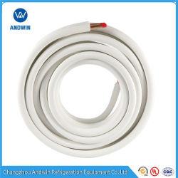 """1/4"""" 3/8'' 1/2 '' 5/8"""" 3/4'Tubo de cobre isolados /Tubo de cobre para o Kit de Instalação de ar condicionado"""
