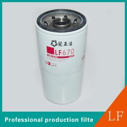 Cartouche du filtre à huile automatique de pièces pour moteur Cummins LF670