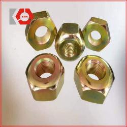DIN934 Hexagon Noten van het roestvrij staal met Geplateerd Zink