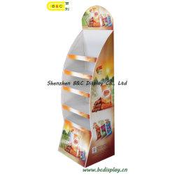 Markets eccellente Paper Display per Chips, Cardboard Display Stand con lo SGS (B&C-A003)