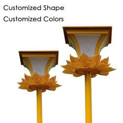 La lampada chiara calda senza fili esterna del giardino registrabile LED illumina le lampadine economizzarici d'energia della casa della centrale elettrica della via di illuminazione della decorazione