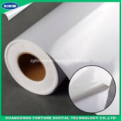 Commerce de gros de l'impression auto-adhésif autocollant vinyle imperméable film vinyle auto-adhésif