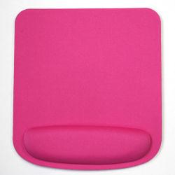 El logo impreso personalizable Square Reposamuñecas de gel Mouse Pad