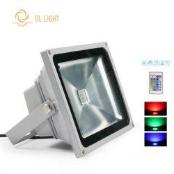 12V/24VDC 10W/20W/30W RGB LED 투광램프 플러드 빛 램프 조경 백색 반점 빛 갱도 빛