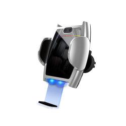 cargador de coche inalámbrico 15W 10W 7.5W infrarrojos automático soporte del teléfono de inducción