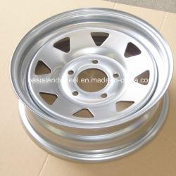 작은 관이 없는 트레일러 바퀴/4X4 강철 바퀴 (13X4.5, 13X5.5)