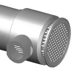管の経路は速い土台のチャックリンク単一パスの倍の管の熱交換器である
