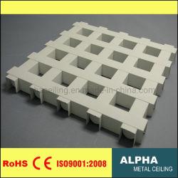 알루미늄 금속이 Decoratived 건축재료를 위한 열리는 세포 격자 천장을 중단했다