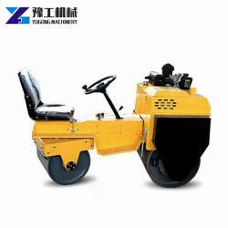 Machine van de Pers van de Wegwals van de Trommel van de Prijs van de fabriek 1t 2t 3t de Dubbele Hydraulische Trillings
