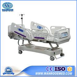 병원 의학 가구 외과 5 기능 실험실 조정가능한 ICU 전기 치과 테스트 참을성 있는 ICU 침대 장비