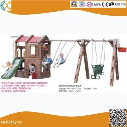 Reeks van de Schommeling van het Theater van de Speelplaats van de Binnenplaats van kinderen de Openlucht Bos Plastic
