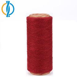 Filato cardato poli cotone riciclato del filato di miscela del cotone per lavorare a maglia