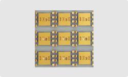 Одной стороны керамики PCB монтажная плата используется в светодиодном и силовая электроника