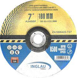 mola legata resina di 180X6.4X22.2mm per metallo