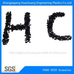 Черный нейлон66 усиленные гранулы для технических пластмасс