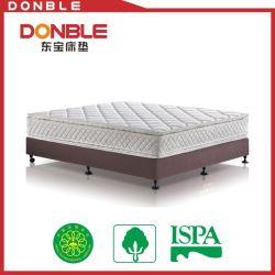 يجعل في الصين [هيغقوليتي] 5 نجم فندق غرفة نوم لثأ زبد ضعف وسادة أعلى [بونّلّ] نابض سرير فراش