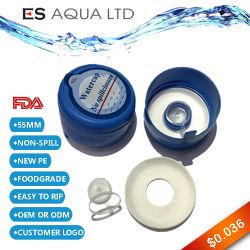 Botella de 5 galones Non-Spill 20L de agua de la tapa de botella Tapón de botella de plástico tapas de botella de plastico