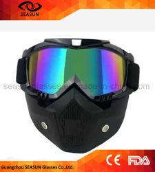 De Stofdichte WindBeschermende brillen van uitstekende kwaliteit van de Helm van de Veiligheid met het Merk van de Naam van de Douane